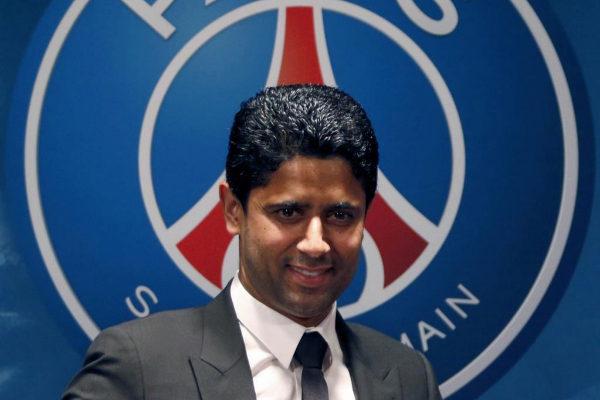 El presidente del PSG Nasser al-Khelaifi