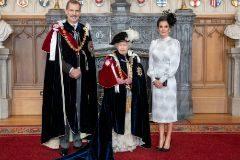 El Rey Felipe VI, investido caballero de la Orden de la Jarretera en Londres