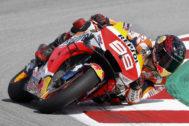 GRAFCAT749. MONTMELÓ (BARCELONA).- El piloto español de MotoGP, Jorge <HIT>Lorenzo</HIT>, del equipo Repsol Honda durante la tercera sesión de entrenamientos libres en el Circuito de Barcelona-Cataluña donde mañana domingo se disputa el Gran Premio de Cataluña de Motociclismo.