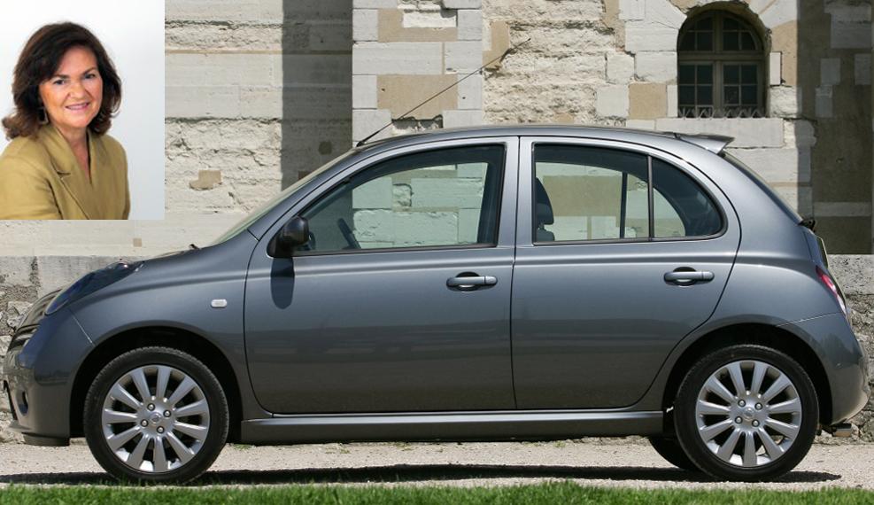 La vicepresidenta del Gobierno en funciones declara tener un Nissan Micra del año 2006.
