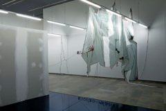 Una de las instalaciones del proyecto 'Something Happened' en el Centre del Carme.
