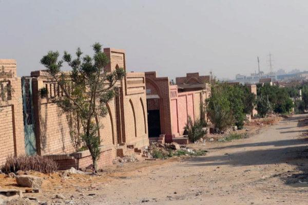 Vista del cementerio de Al-Wafaa Wa al-Amal donde ha sido enterrado Mursi.