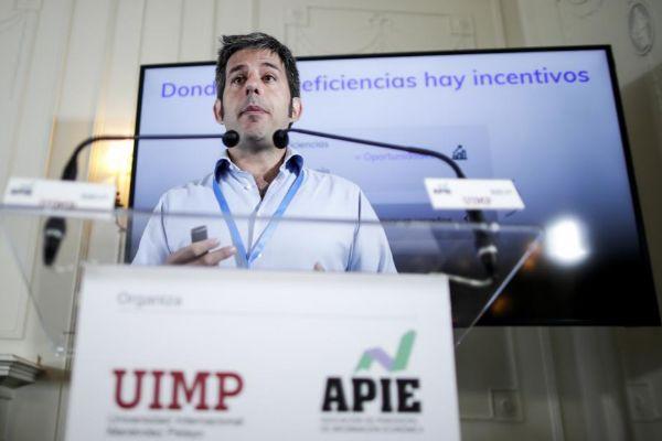 El consejero delegado de Cabify. Vicente Pascual.