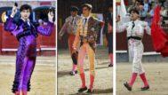 Roca Rey, Ochoa y Caballero en una imagen de archivo