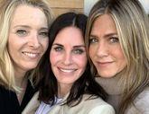 Lisa Kudrow y Jennifer Aniston se reencuentran con Courteney Cox para...