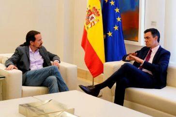 """Reunión sin avances entre Sánchez e Iglesias: """"Sus posiciones están muy alejadas"""""""