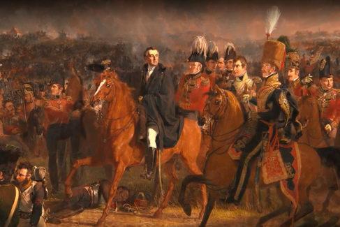 El único español empotrado en Waterloo