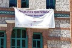 Más Madrid denuncia que el nuevo Ayuntamiento retira las pancartas contra la violencia machista