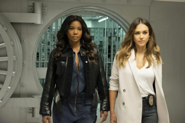 Gabrielle Union y Jessica Alba, en 'L.A.'s Finest'.