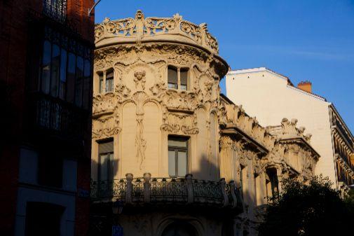 Sede de la SGAE, en el Palacio de Longoria de Madrid.