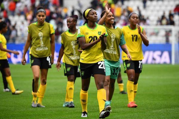 Jugadoras del equipo jamaicano, en el Mundial.
