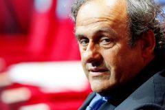 El ex presidente de la UEFA Michel Platini.