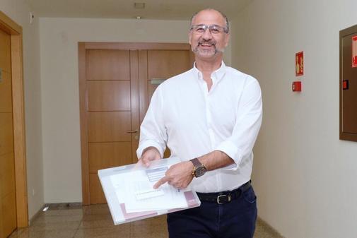El futuro presidente de las Cortes de Castilla y León, Luis Fuentes