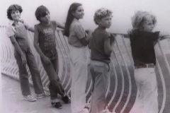 Los cinco integrantes del grupo Parch�s, en una imagen compartida recientemente por Yolanda Ventura en su Instagram.