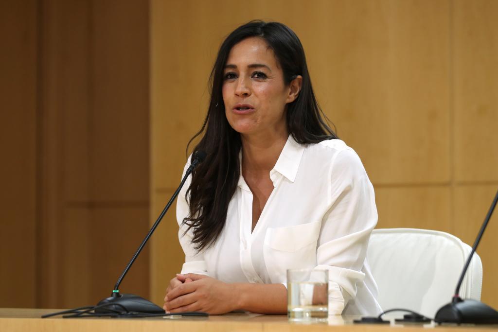 La vicealcaldesa de Madrid, Begoña Villacís, el pasado lunes.