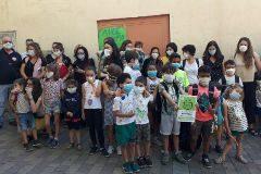 Padres y alumnos protestan con mascarillas para exigir que siga Madrid Central