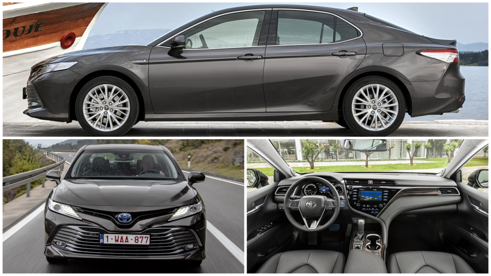 Toyota Camry hybrid: la popular berlina japonesa desembarca en España