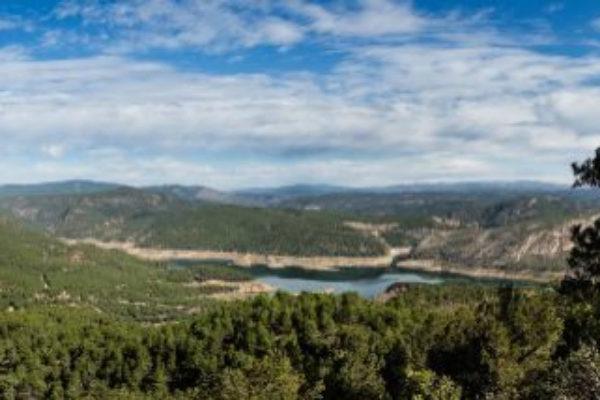 Vista de uno de los parajes del Alto Turia, Reserva de la Biosfera.