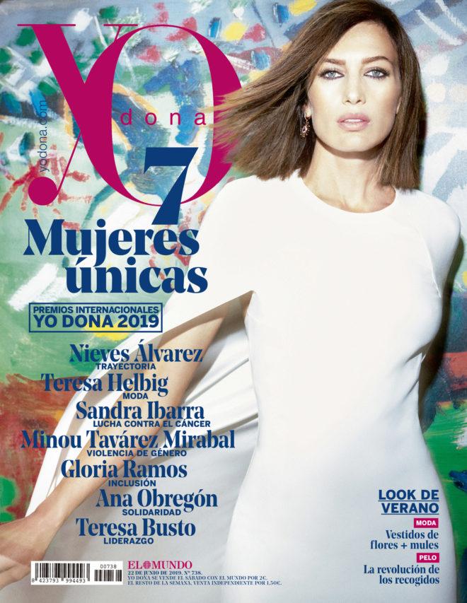 En portada Nieves Álvarez
