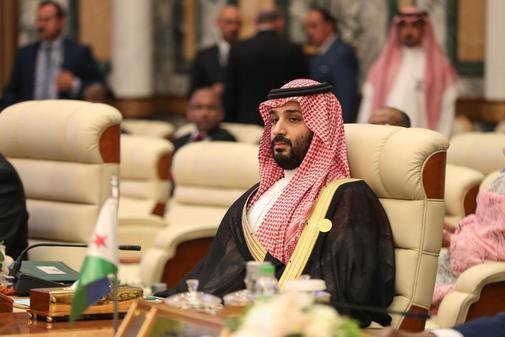 El príncipe heredero saudí Mohammed bin Salman asiste en mayo a la extraordinaria cumbre árabe celebrada en el Palacio Real al-Safa en La Meca