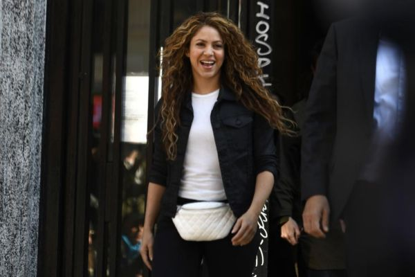 Shakira en una imagen de archivo