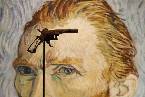 La supuesta arma que mató a Van Gogh en una exhibición antes de ser vendida.