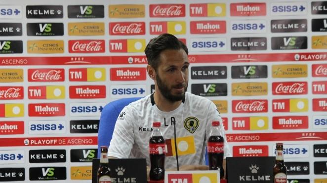 Lluís Planagumà en una rueda de prensa