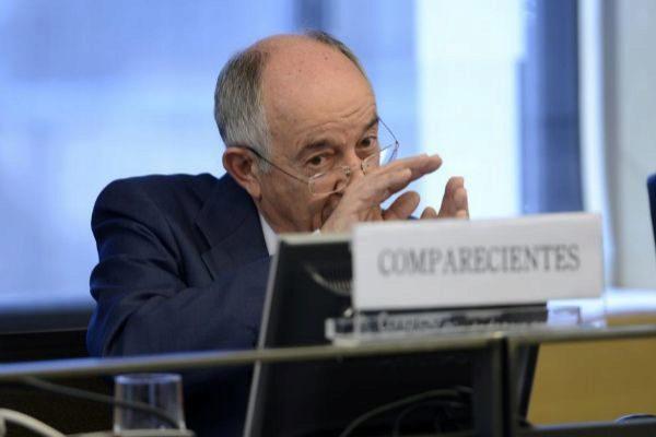 El ex gobernador del Banco de España,  Miguel Ángel Fernández Ordóñez