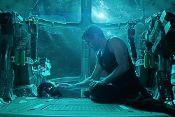 Tony Stark (Iron Man), interpretado por Robert Downey Jr.