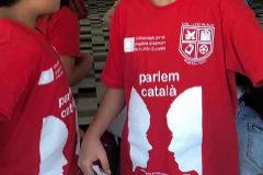 Alumnos del CEIPPortal Noud e Ibiza en su viaje a Valencia.