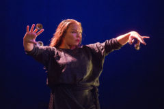Rocío Molina ejecuta el taranto en honor a Fernanda Romero.