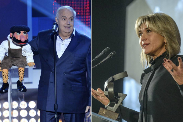 José Luis Moreno y Julia Otero