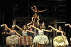 Un ensayo del musical 'Sacarmouche' en el Victòria.