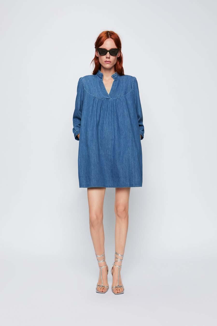 paquete de moda y atractivo a bajo precio barata más fotos Vestido vaquero de Zara | Moda | EL MUNDO