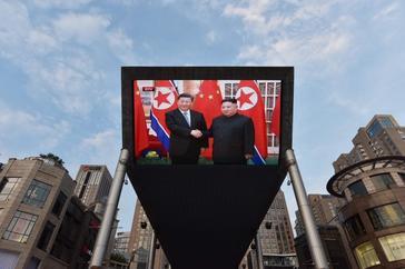 Primera visita de un presidente chino a Corea del Norte en 14 años