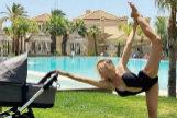 La postura imposible de Patricia Montero en bañador