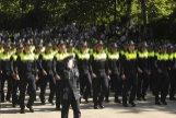 Recupera el Desfile de la Policía en el Retiro, donde volverá a sonar el himno nacional