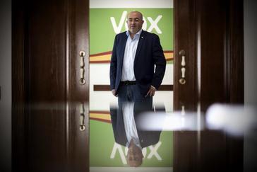 Juan José Bonilla, hasta ahora concejal de Vox en El Ejido.