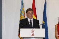 El presidente de la Generalitat Valenciana, Ximo Puig, después de ser investido.