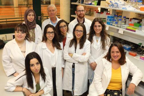 Miembros del grupo de investigación del doctor José Antonio Sánchez Alcázar.