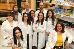 Miembros del grupo de investigación del doctor Sánchez Alcázar.