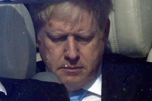 PM hopeful <HIT>Boris</HIT> Johnson leaves the Parliament in London