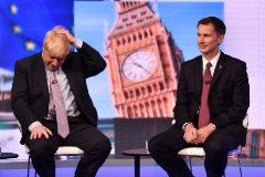 Boris Johnson se medirá a Jeremy Hunt por el liderazgo conservador
