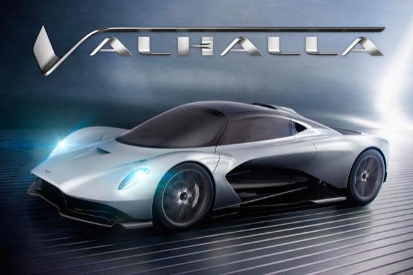 Aston Martin continúa con la mitología vikinga y bautiza como Valhalla a su segundo superdeportivo