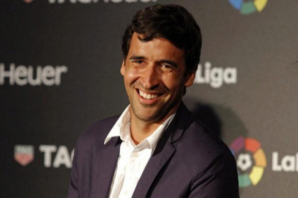 El ex jugador del Real Madrid Raúl González