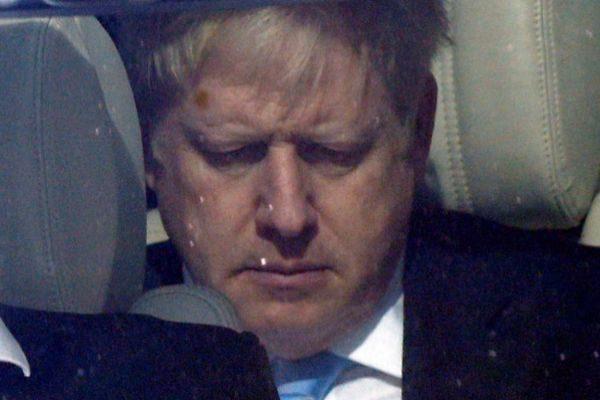 PM hopeful <HIT>Boris</HIT> Johnson leaves the Parliament in London