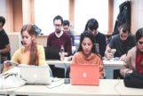 Los alumnos del Máster durante una clase.