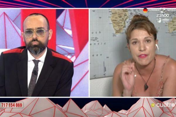 Risto Mejide y Beatriz Talegón en Todo es mentira