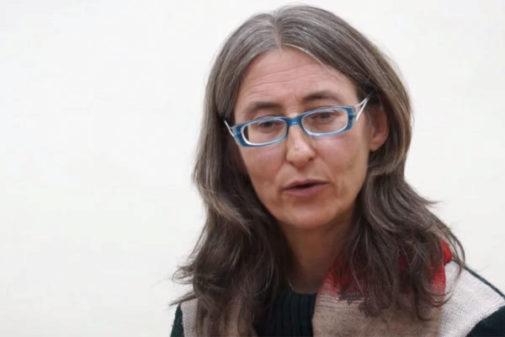 La pediatra Isabel Bellostas Escudero en una entrevista en internet.