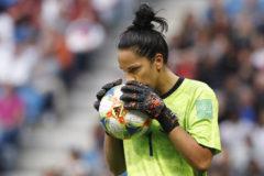 La portera de la selección argentina Vanina Correa
